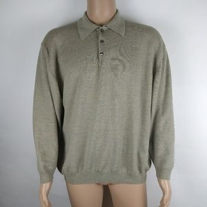 Other - Pronto-Uomo mid button up mens sweater size xxl